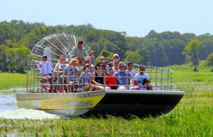 Airboat tour of the swamps- Transport from Orlando included