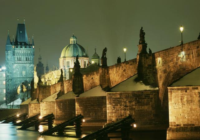 Photo Visite nocturne autour des mystères de Prague