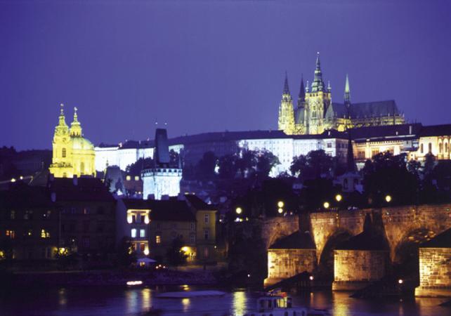 Diner croisière sur la Vltava - Prague -
