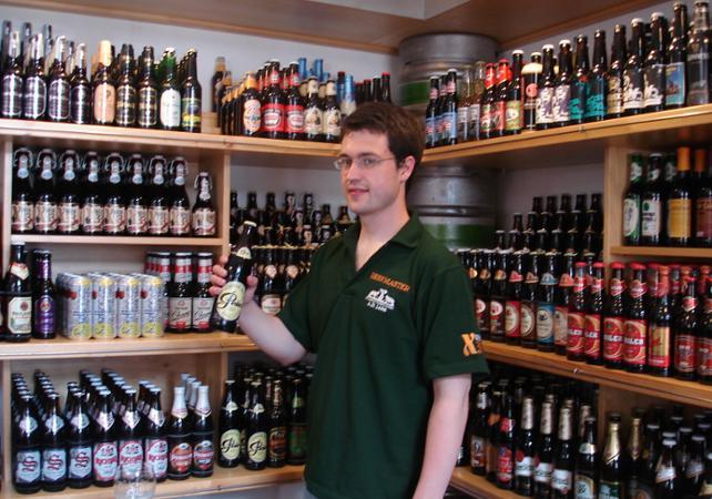 Photo Dégustation de bières tchèques