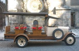 Visit Prague in a Vintage Car