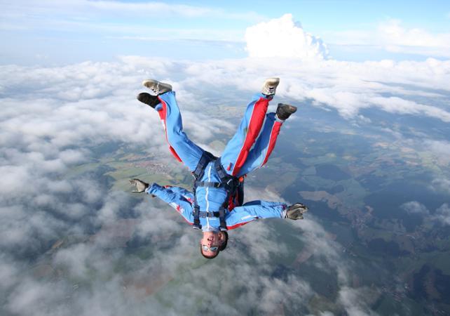 Photo Saut en parachute à Prague