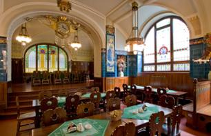 Lunch or Dinner at the Pilsen Restaurant in the Municipal House Hall