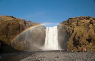 Excursion towards the Southern Coast - Skogafoss and Seljalandsfoss waterfalls - Departure from Reykjavik