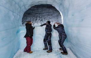 2-Day Excursion on the Icelandic West Coast: Discover ice and lava caves – Departing from Reykjavik