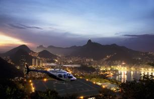 Helicopter Flight over Rio