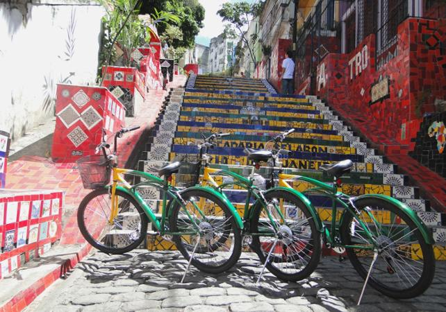 Photo Rio à vélo – Circuit entre le centre historique et Lapa