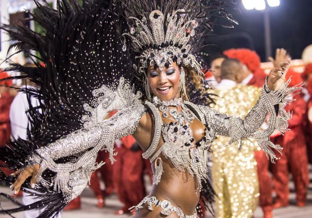 Billet Défilé du Carnaval de Rio avec départ/retour hôtel - Rio De Janeiro -
