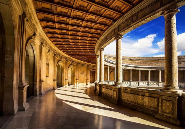 excursion l alhambra excursion s ville. Black Bedroom Furniture Sets. Home Design Ideas