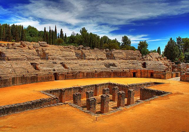 Excursion dans l'ensemble archéologique d'Italica - au départ de Séville - Séville -