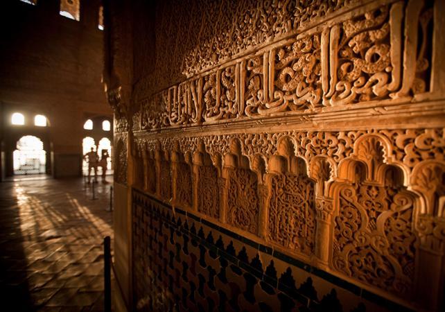 Photo Visite guidée à pied de l'Alhambra à Grenade