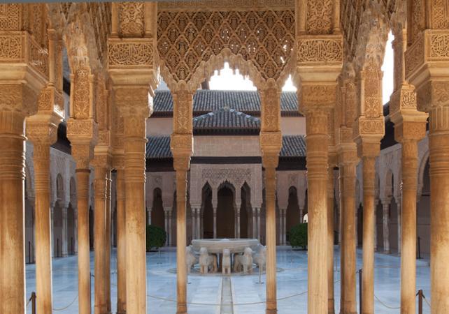 Photo Visite guidée l'Alhambra et survol de Grenade en avion