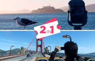 Alcatraz Ticket + Panoramic Bus Tour - San Francisco