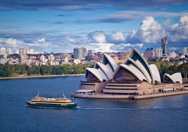 Visite guidée de Sydney et de Bondi Beach - Tour en minibus et à pied image 2