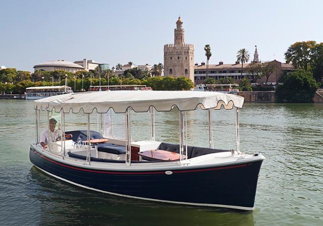 Croisière en bateau électrique à Séville sur le Guadalquivir – avec ou sans boisson - Séville -