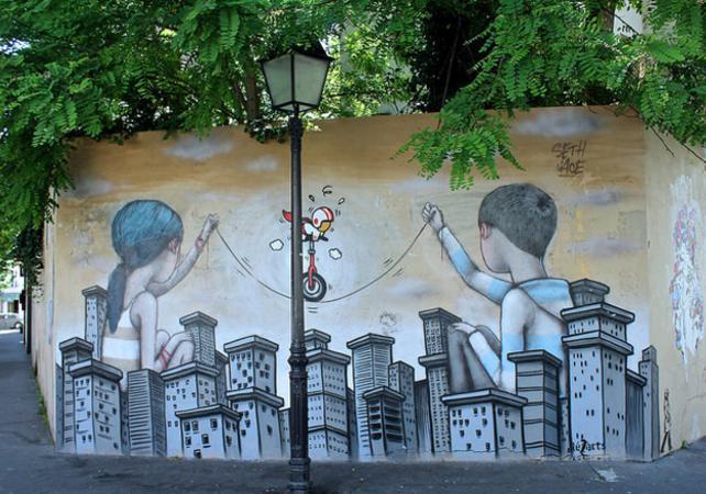 Visite Street Art à la Butte aux Cailles - Paris - Ceetiz