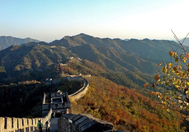 Randonnée privée sur la Grande Muraille de Mutianyu – Au départ de Pékin - Grande Muraille de Chine -
