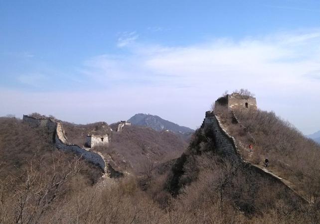 Randonnée sportive à Jiankou – Au départ de Pékin - Grande Muraille de Chine -
