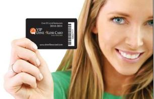 VIP Dine4Less Card: Save money on your meals in Vegas