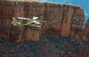 Helicopter Flight: The Grand Canyon, Hoover Dam & Las Vegas + Tour of the West Rim & Fast-Track Tickets for the Skywalk – VIP tour