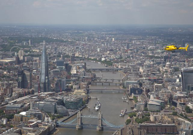 Photo Survol de Londres en hélicoptère
