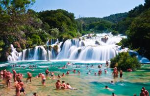 Excursion au Parc National Krka et à Šibenik - au départ de Split