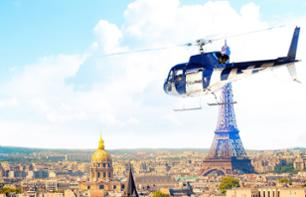 Helicopter Flight over Paris and Versailles