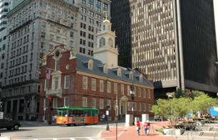 Trolley Bus Tour of Boston (Hop On, Hop Off)