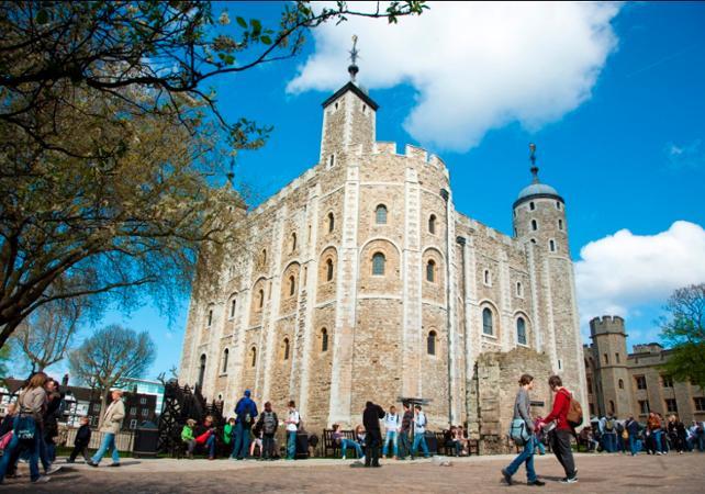 Pass d'accès à 3 Palais Royaux - Coupe file - Londres -
