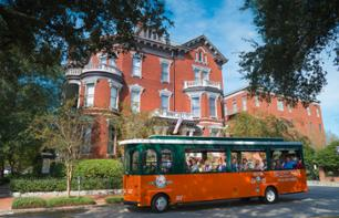 Hop-on hop-off Savannah Trolley Tour – 1 or 2 day pass
