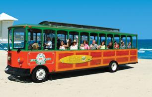 Trolley Bus Tour along the Pacific Coast – Multiple stops in San Diego, La Jolla & Mission Beach