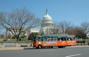 Washington, DC Trolley Bus Tour – hop-on, hop-off
