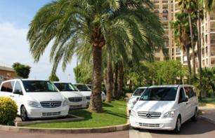 Daytime transfer in a private vehicle from Monaco to Beaulieu-sur-Mer