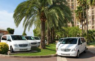 Transfer by private vehicle from Eze, Menton, Monaco or La Turbie during the day.