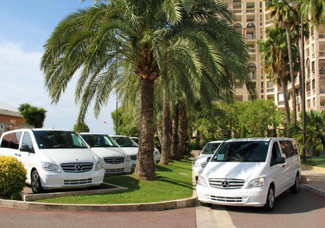 Transfert en véhicule privé depuis Nice et l'aéroport de Nice vers Monaco en journée - Monaco -
