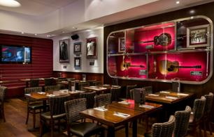 VIP-Einlass in das Hard Rock Cafe in Barcelona