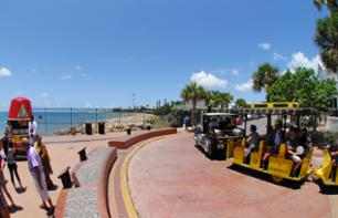 "Visita a Key West em ""Conch train"""
