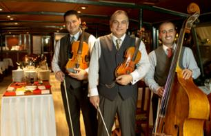 Danube Dinner Cruise & Live Concert at 7pm – Optional Hotel Transfer
