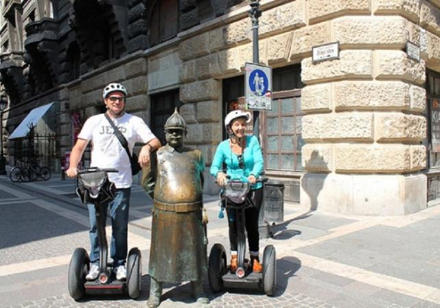 Photo Visite guidée en segway du centre de Budapest