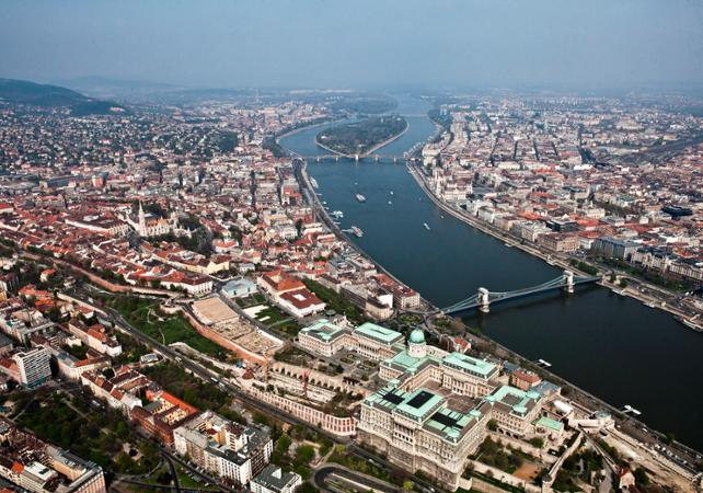 Survol de Budapest en avion - Budapest -