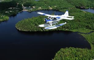 Flight over La Mauricie National Park in Seaplane or Skiplane – Departing from Trois-Rivières