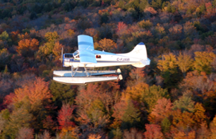 Seaplane/Skiplane Flight and Gourmet Meal (Spa Optional) – Departing from Trois-Rivières
