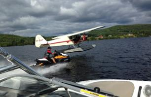Seaplane Flight and Jet Ski Ride – Departing from Trois-Rivières