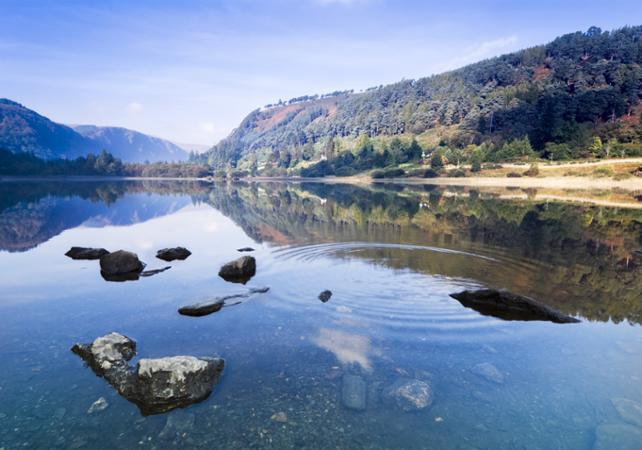 Excursion d'une journée à Glendalough dans la vallée des deux lacs au départ de Dublin - Dublin -