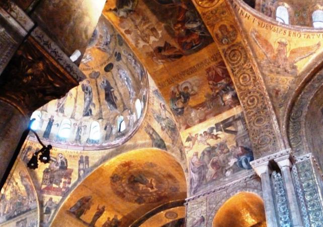 Accès au sommet de la Basilique Saint Marc et visite guidée de l'église et du musée Saint Marc - Billet coupe-file - Venise -