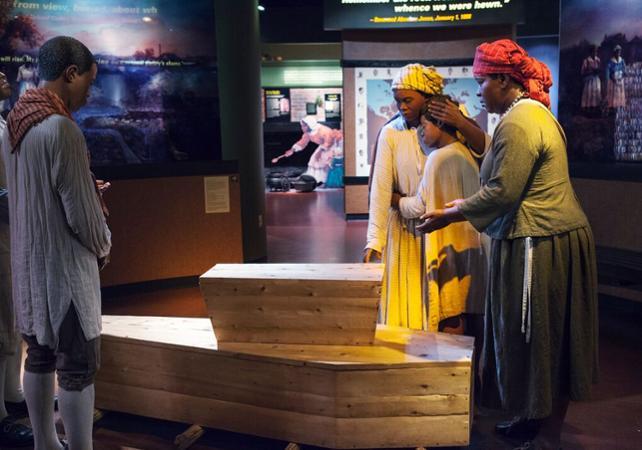 Photo Visite guidée à pied à la découverte de l'Underground Railroad, le réseau clandestin d'évasion des esclaves à New York