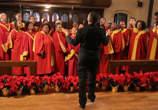 Visite Guide Pied De Harlem Messe Gospel