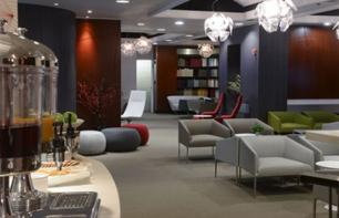 VIP-Lounge am internationalen Flughafen Newark von New York (Terminal B)