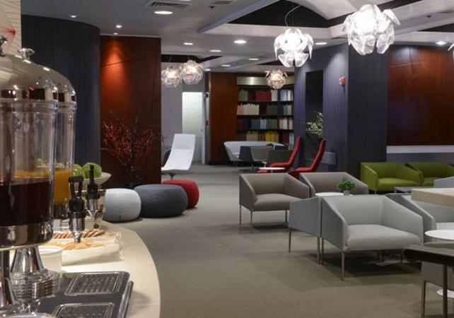 New York City: VIP Lounge in Newark International Airport, New York (Terminal B)