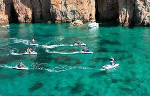 Jet Ski Ride to the Anse de la Fica - 40 minutes from Ajaccio